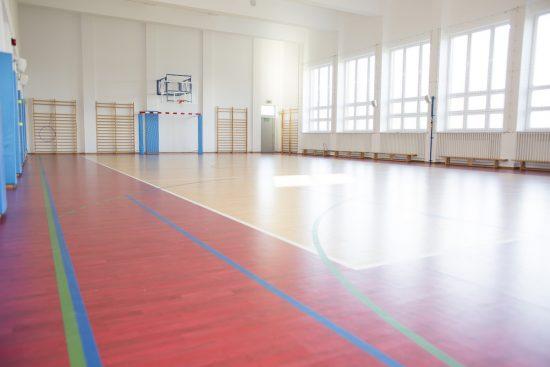 Szkoła Heliantus - Sala Gimnastyczna