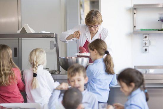 Szkoła Heliantus - Kuchnia, Stołowka, Jadalnia