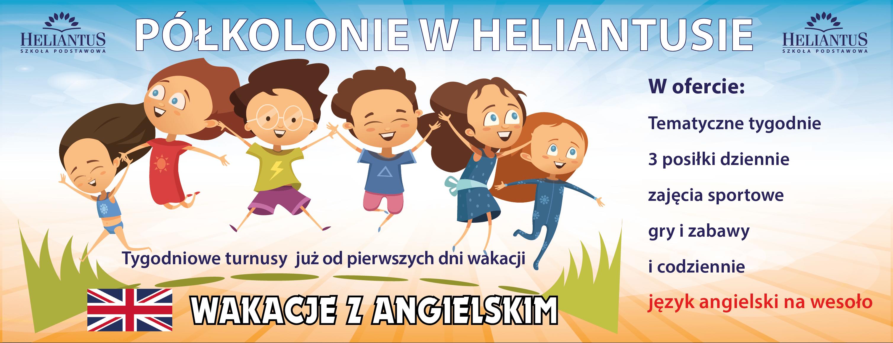 Półkolonie w Heliantusie 2021